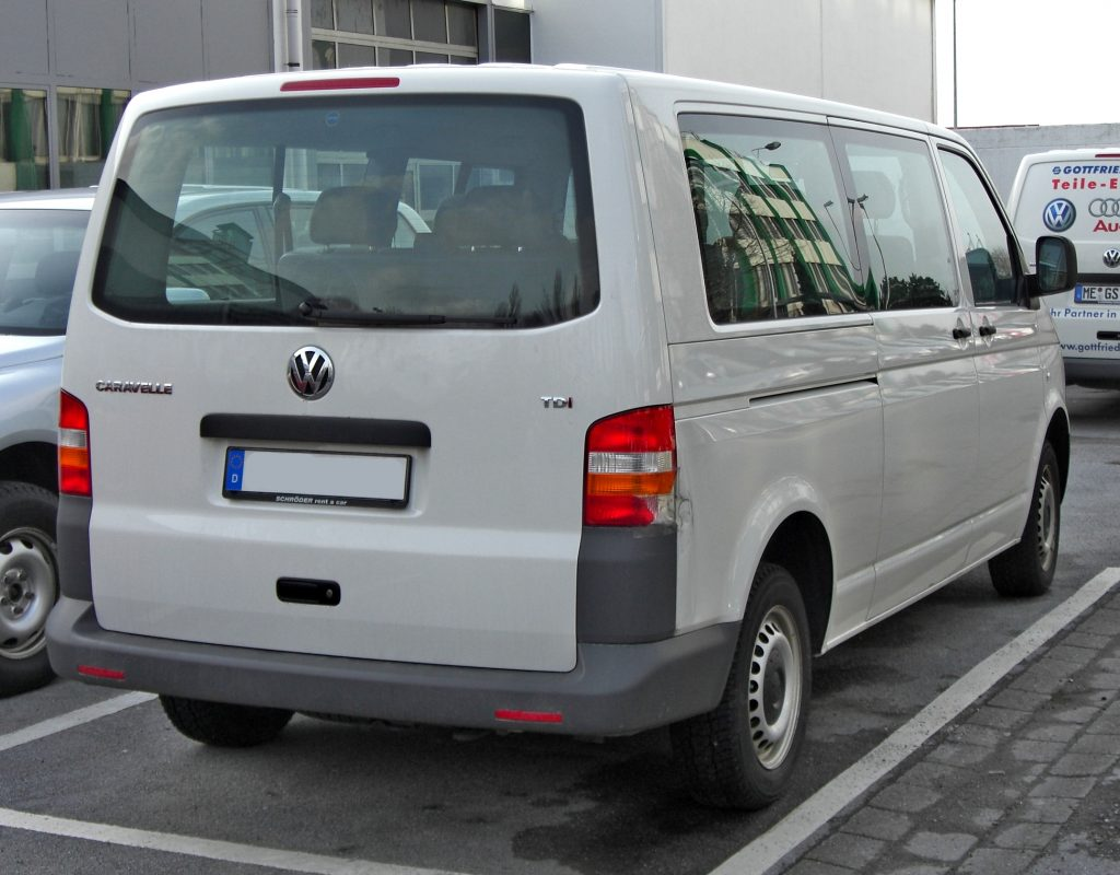 VW Caravelle leasing erhverv