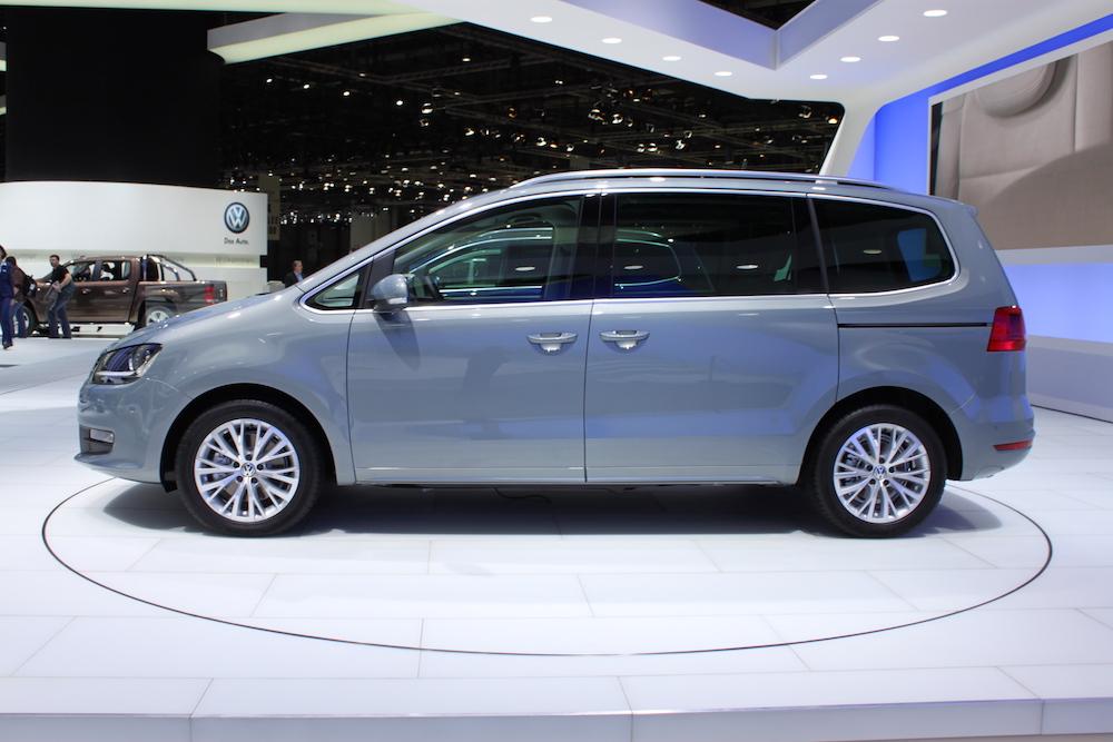 VW Sharan erhvervleasing