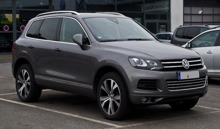 VW Touraeg leasing