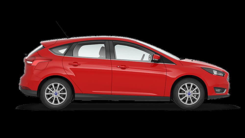 Ford Fokus leasing erhverv