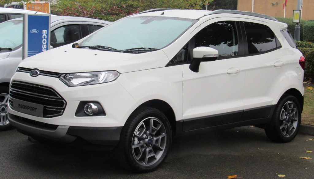 Ford ecosport privatleasing