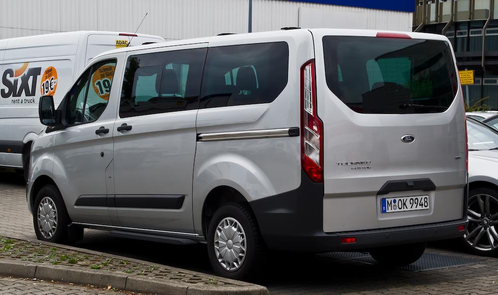 Ford tourneo leasing erhverv