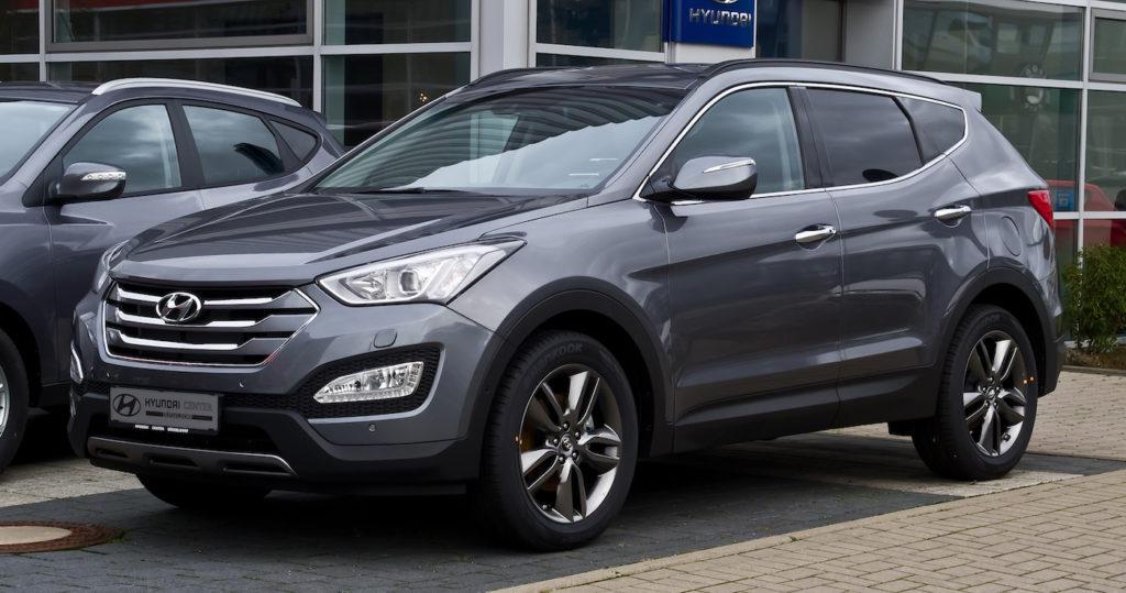 Hyundai Santa Fee leasing