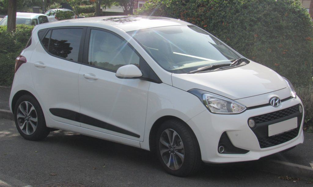 Hyundai i10 privatleasing