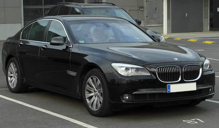 BMW 7-serie leasing