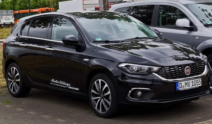 Fiat Tipo leasing