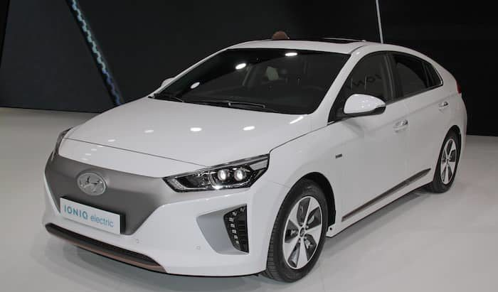 Hyundai IONIQ electric leasing