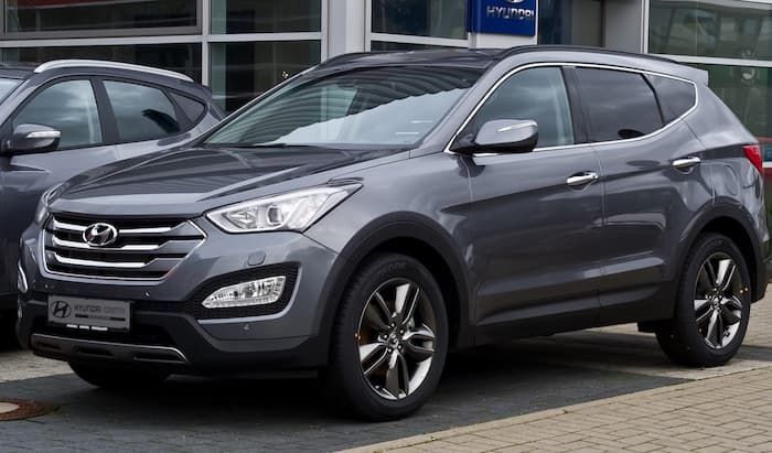 Hyundai Santa Fee leasing
