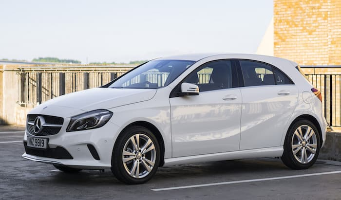 Mercedes A klasse leasing