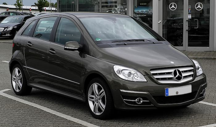 Mercedes B klasse leasing