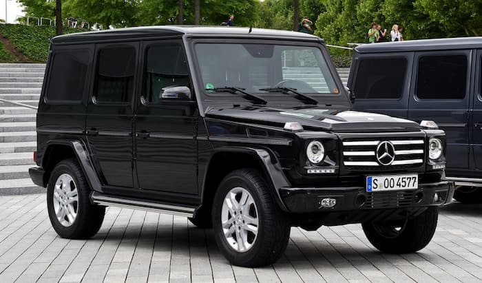Mercedes G klasse leasing