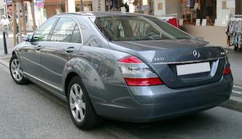 Leasing af Mercedes S klasse
