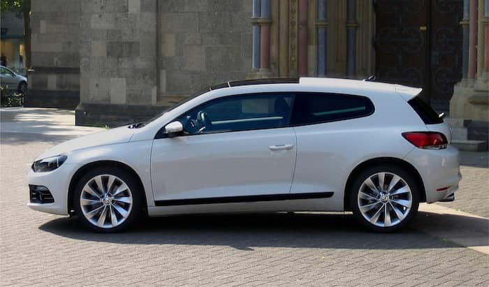 VW Scirocco leasing