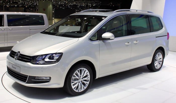 VW Sharan leasing