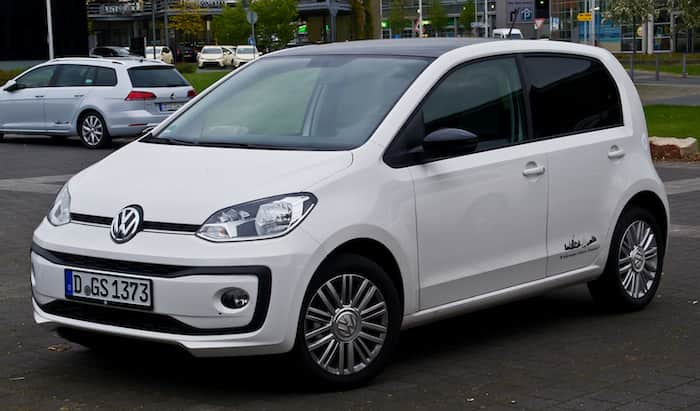 VW Up leasing