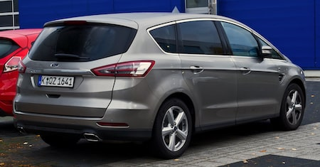 Ford S-max erhvervsleasing