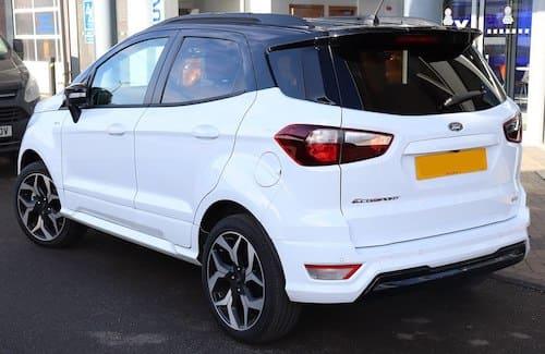 Ford ecosport leasing erhverv